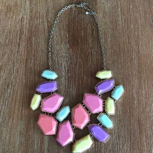 Beautiful pastel necklace
